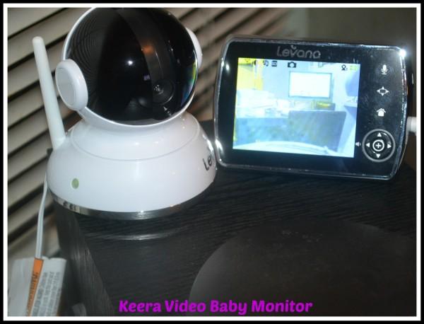 keera video baby monitor mom 39 s six little monkeys. Black Bedroom Furniture Sets. Home Design Ideas